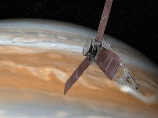 NASAs Juno Spacecraft to Risk Jupiters Fireworks for Science