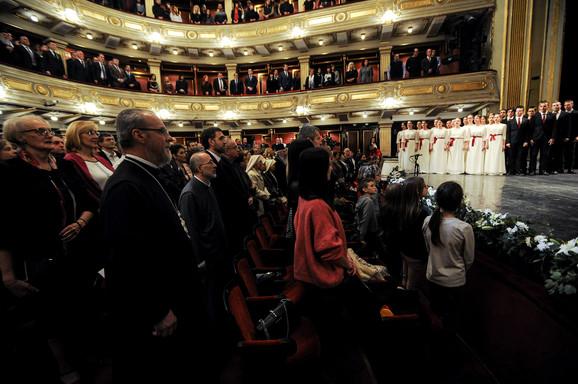 Svetosavska akademija u Narodnom pozorištu