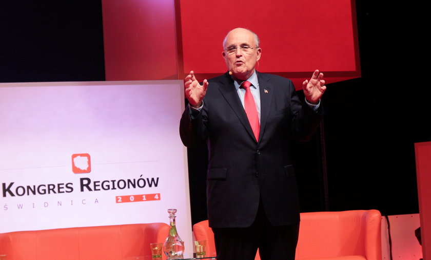 Giuliani na Kongresie Regionów w Świdnicy