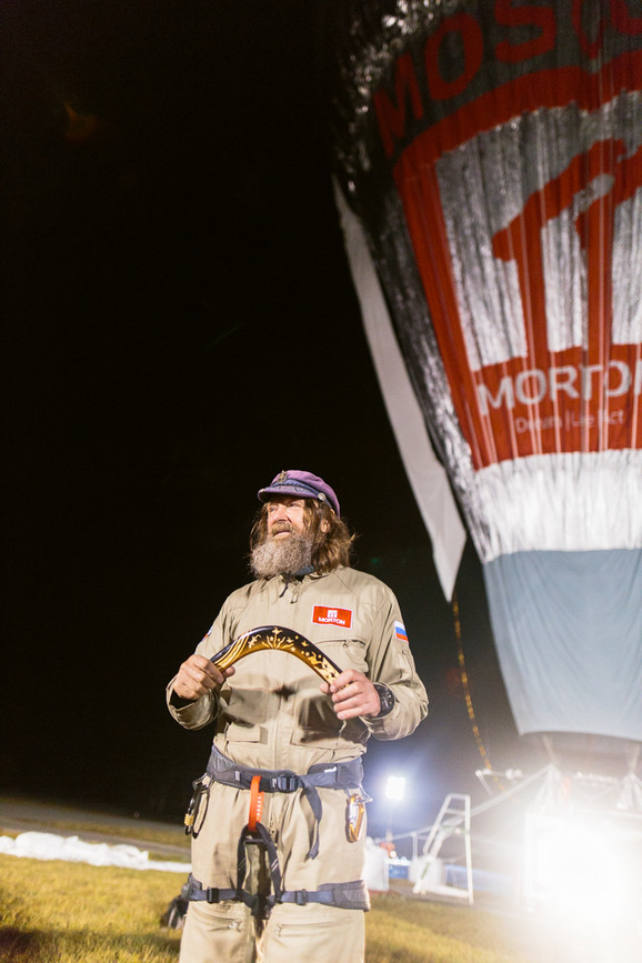 Fedor Konjuhov obleteo je svet u balonu za 11 dana