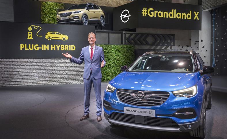 Opel grandland X także jako hybryda ładowna z gniazdka