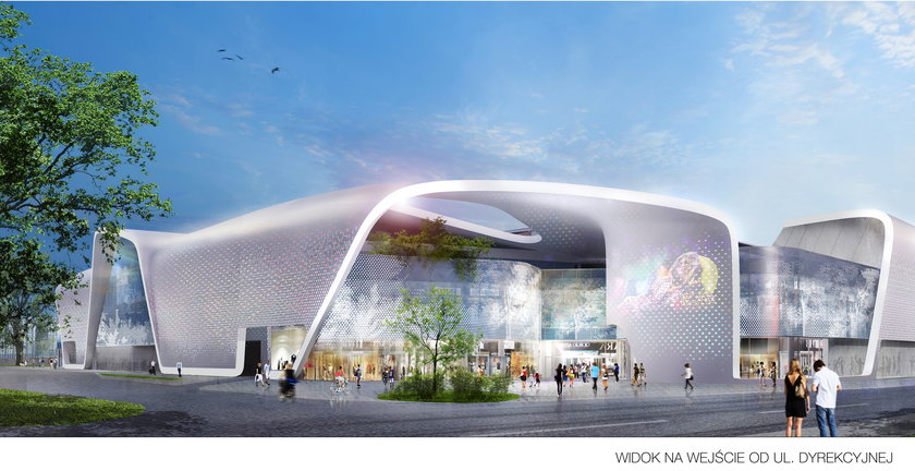 Wizualizacja nowego dworca PKS