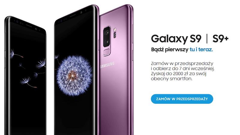 Samsung galaxy s9 cena nowy