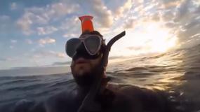 """Dryfował samotnie po oceanie, był pewny śmierci i postanowił nagrać """"ostatnie słowa"""""""