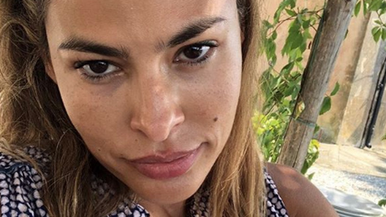 See Eva Mendes's No-Makeup-Look Instagram Selfie