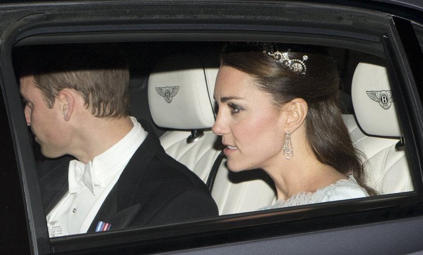 Księżna Kate w tiarze