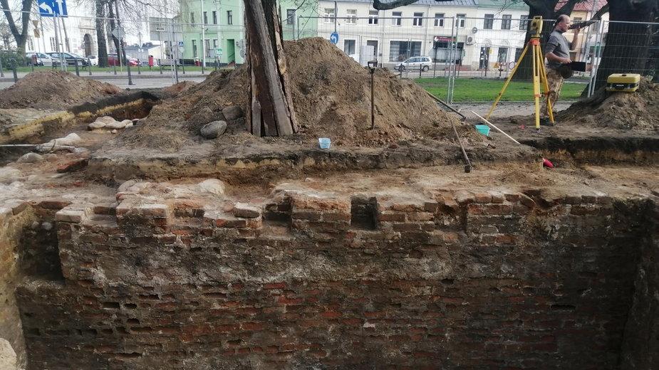 Odkrycia archeologiczne w Rawie Maz.