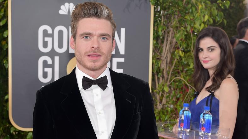 Złote Globy 2019: Richard Madden i Kelleth Cuthbert