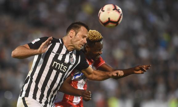 Bojan Ostojić, 35-godišnji veteran u crno-belom dresu, odigrao je sasvim solidan meč protiv