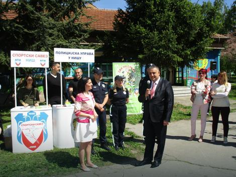 Načelnik niške policje Ninoslav Mitić otvorio nadmetanje đaka