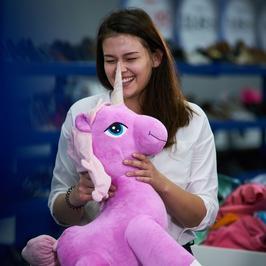 """""""Supermodelka Plus Size"""": Wiktoria i jej różowy jednorożec"""