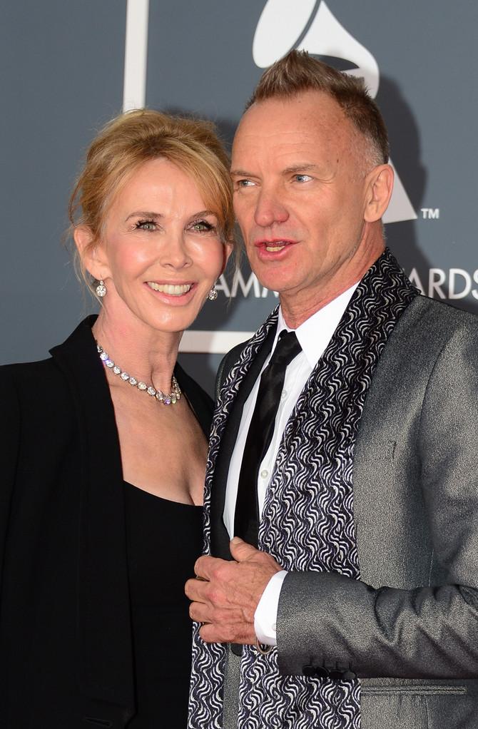Trudi Stajler i Sting, par čija ljubav impresionira
