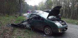 Wstrząsająca relacja świadka wypadku: Nie było im jak pomóc