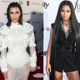 Nicki Minaj w bardzo długich włosach, Kim Kardashian cała w bieli i inne gwiazdy na imprezie modowej. Kto wypadł najlepiej?
