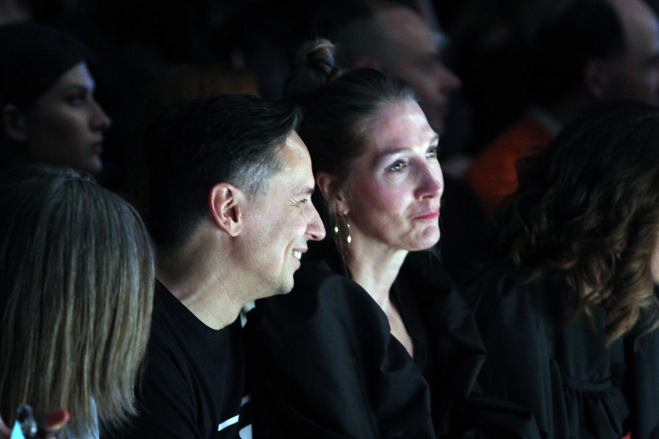 "Marija Tarlać i Nenad Radujević, direktor modnog studija ""Klik"" i autor Fešn vika"