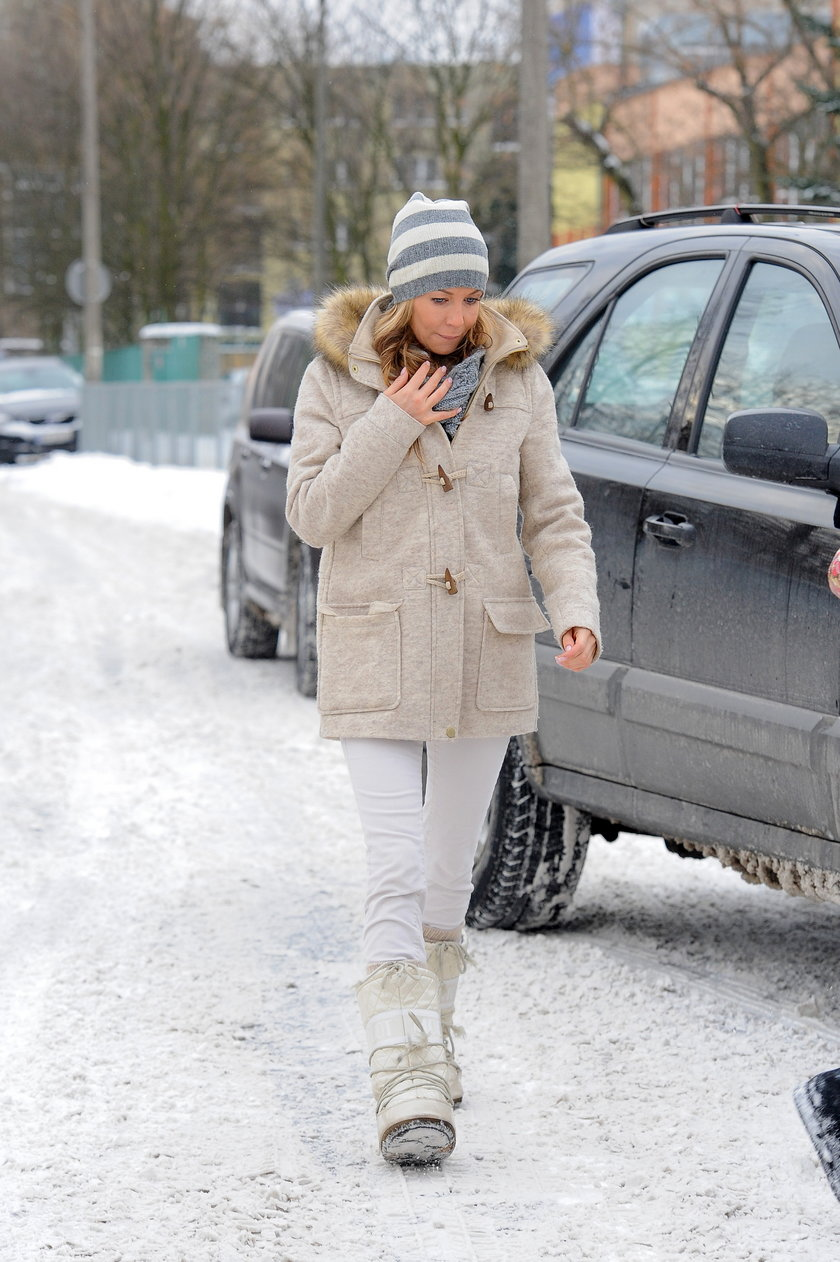 Małgorzata Rozenek Moon Boots