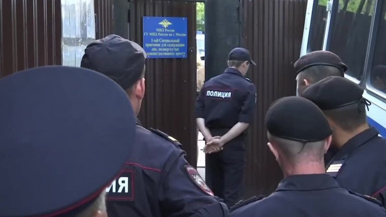 Aktywiści Pussy Riot zatrzymani przez policję