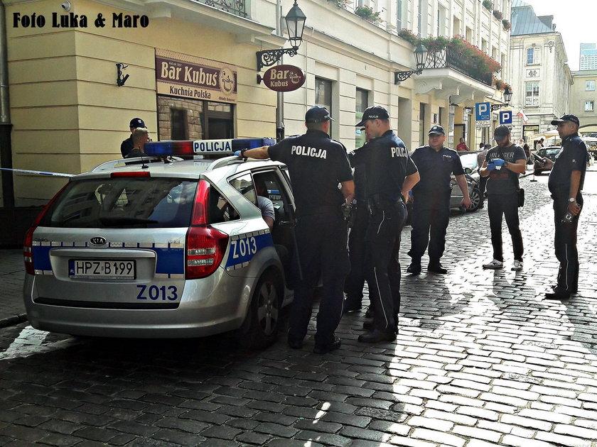 Zaatakował nożem policjanta. Trafi do aresztu
