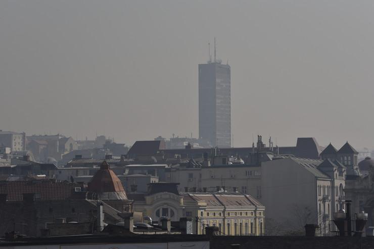 Zagađenje vazduha, Beograd