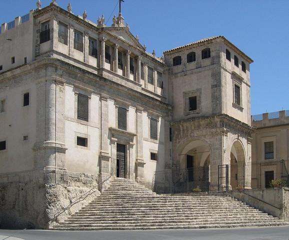 Manastir na Siciliji u kojem je živela sestra Marija Kroćifisa dela Konćecione