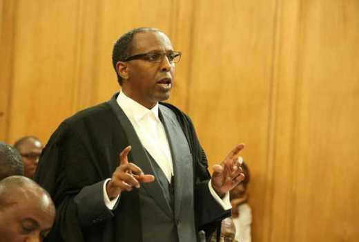 Senior Counsel Ahmednasir Abdullahi