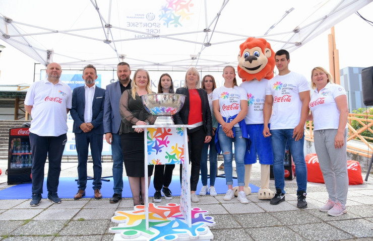 Ceremonija otvaranja Sportskih igara mladih Srbije