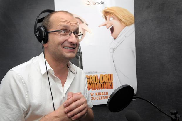 "Robert Górski dubbinguje ""Gru, Dru i Minionki"""