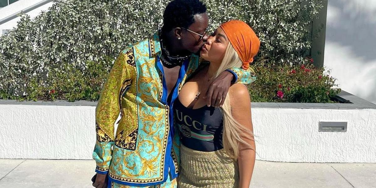 Michael Blackson proposes to girlfriend after brief break up (WATCH)