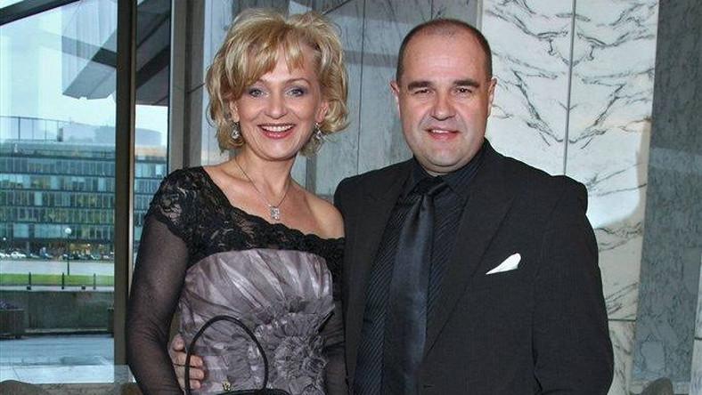 Katarzyna Żak z mężem Cezarym