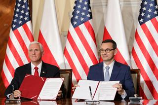 Morawiecki i Pence podpisali deklarację w sprawie bezpieczeństwa sieci 5G