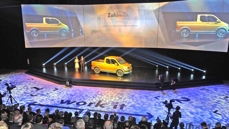 W Hanowerze w czasie wystawy samochodów użytkowych Volkswagen odsłonił model o nazwie tristar. Auto powstało z okazji 30. urodzin pierwszego prototypowego Syncro, czyli VW z napędem 4x4.