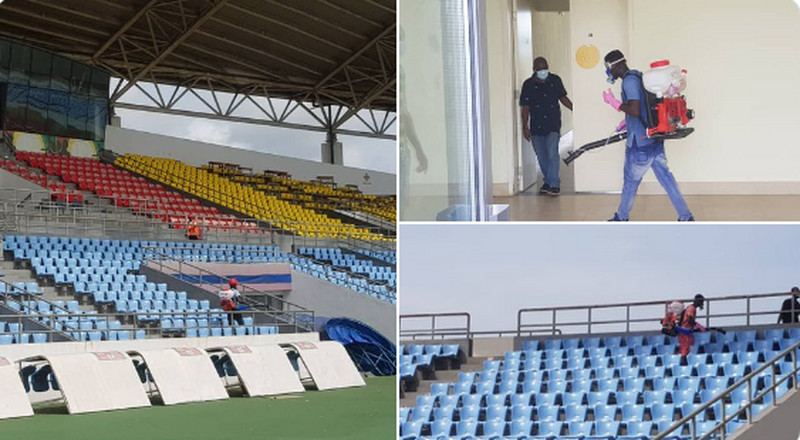 COVID-19: Sports Ministry disinfects stadia, other sports facilities