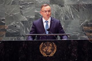 Duda w ONZ: Nord Stream 2 powinien być powodem do refleksji w naszych relacjach z USA