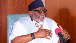 Ondo state Governor, Rotimi Akeredolu. [Channels TV]