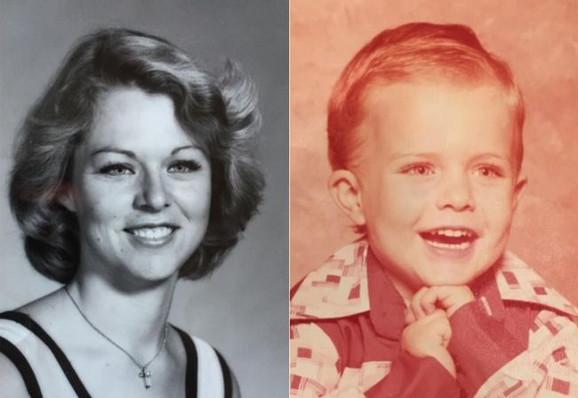 Ronda Vit i njen sinčić Donald