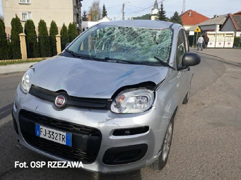 Tragiczny wypadek w Rzezawie