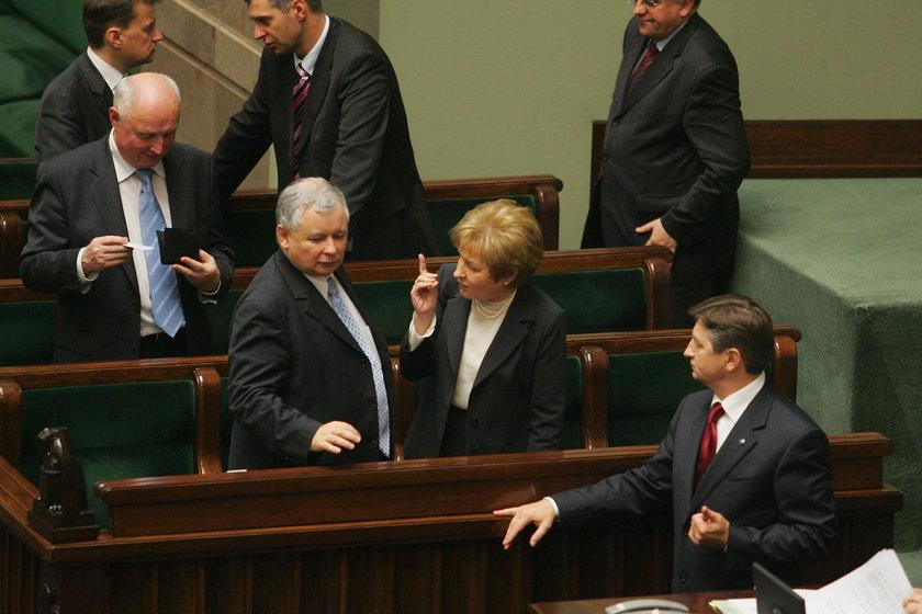 Gilowska w Sejmie