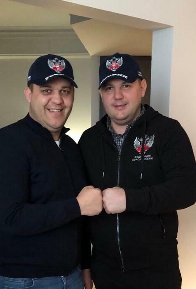 Kremlev Nezirović i Nenad Borovčanin