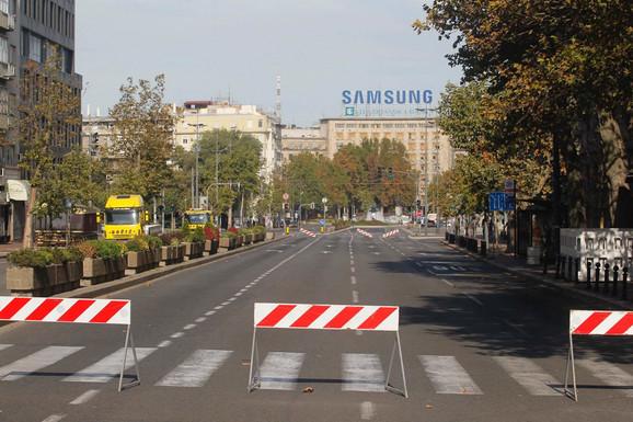 Pojedine ulice biće bez vozila