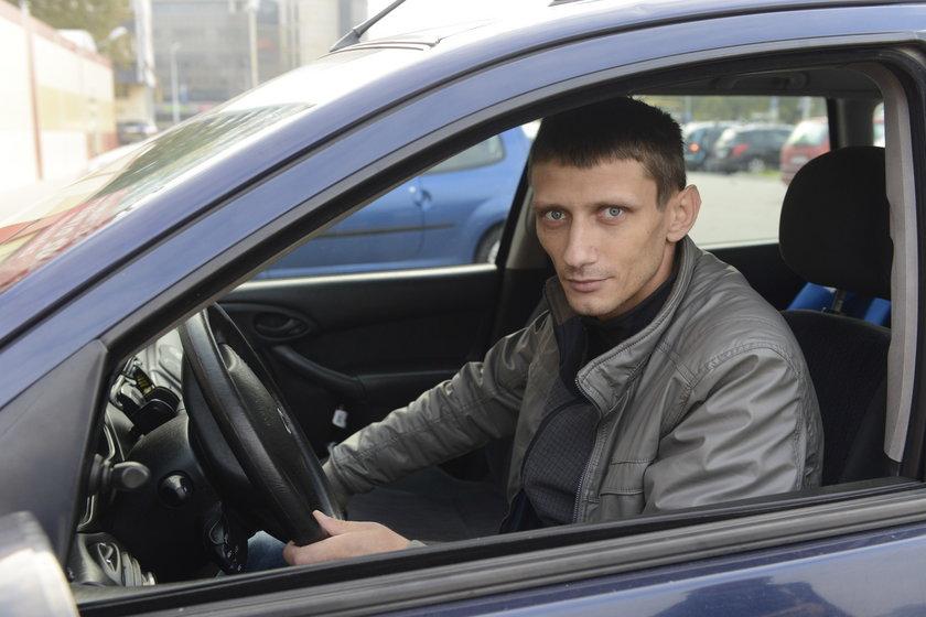 Grzegorz Białas (33 l.), kierowca