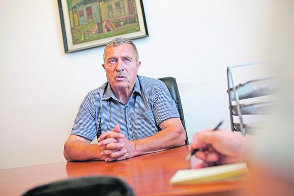Stojanča Arsić, zamenik  predsednika SO Bujanovac