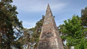 Owiana legendami piramida Łakińskiego w Wielkopolsce