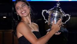 Emma Raducanu won the US Open title on Saturday  (AP)
