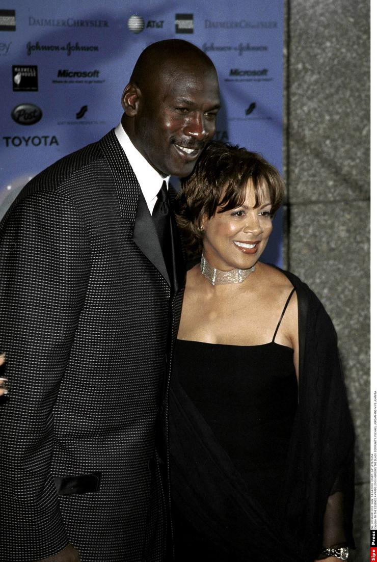 Majkl Džordan i supruga Huanita