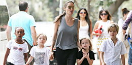 Sąd odbierze Jolie dzieci? Aktorka mocno podpadła