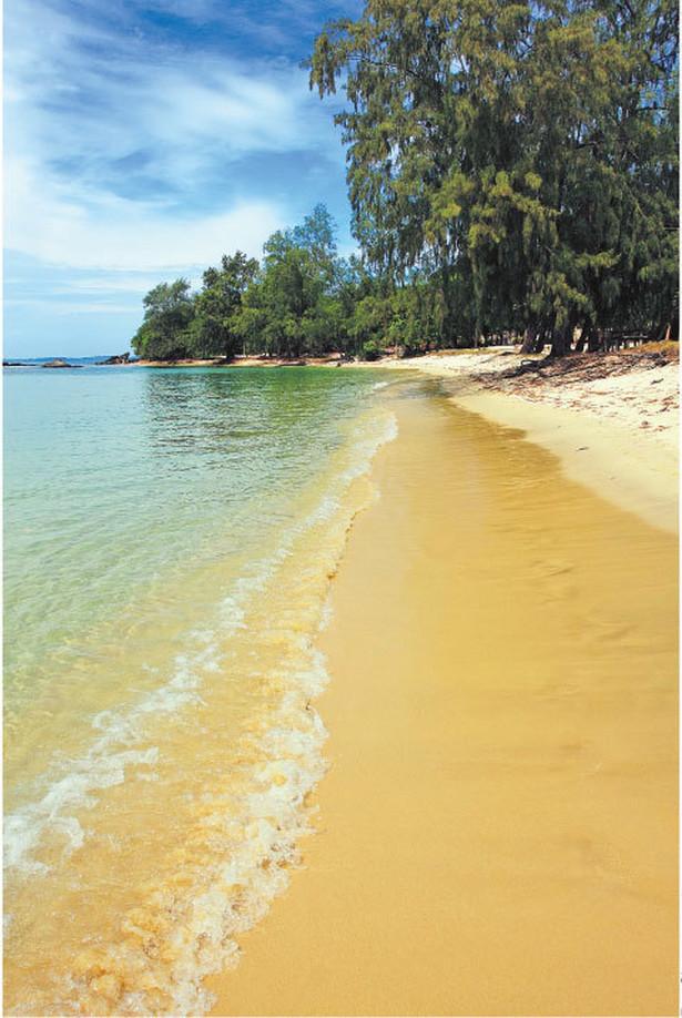 Z powodu kradzieży piasku z powierzchni ziemi mogą zniknąć 83 indonezyjskie wyspy Fot. Shutterstock