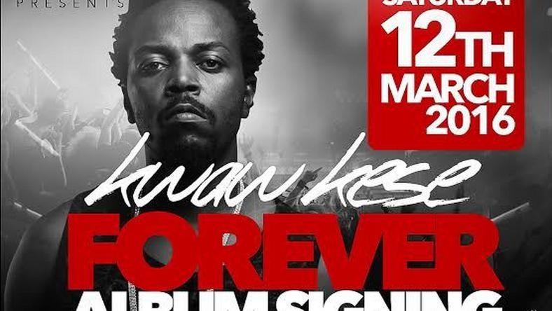 "Kwaw Kese's ""Forever"" album launch & signing scheduled for March 12"