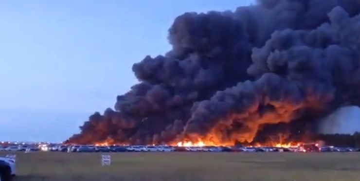 Florida aerodrom požar