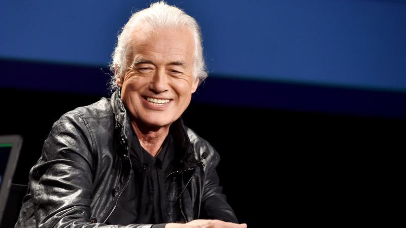 Jimmy Page, gitarzysta Led Zeppelin