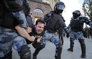 Spadek popularności Putina rodzi konflikty. Moskwianie żądają wolnych wyborów